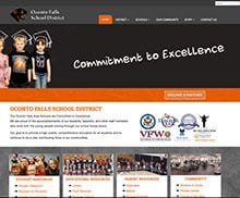 Oconto Falls School District Website