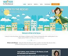 writer to the rescue website
