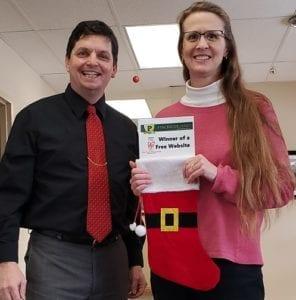 Volunteer Center of Brown County Wins Free Website
