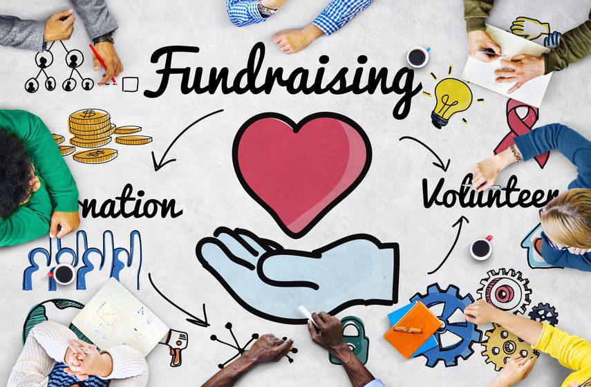 online nonprofit fundraiser planning
