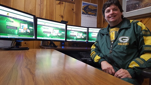 Packerland Websites owner Bill Koehne