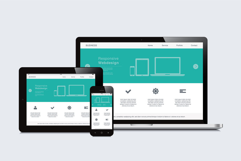 new website resizes for mobile devices