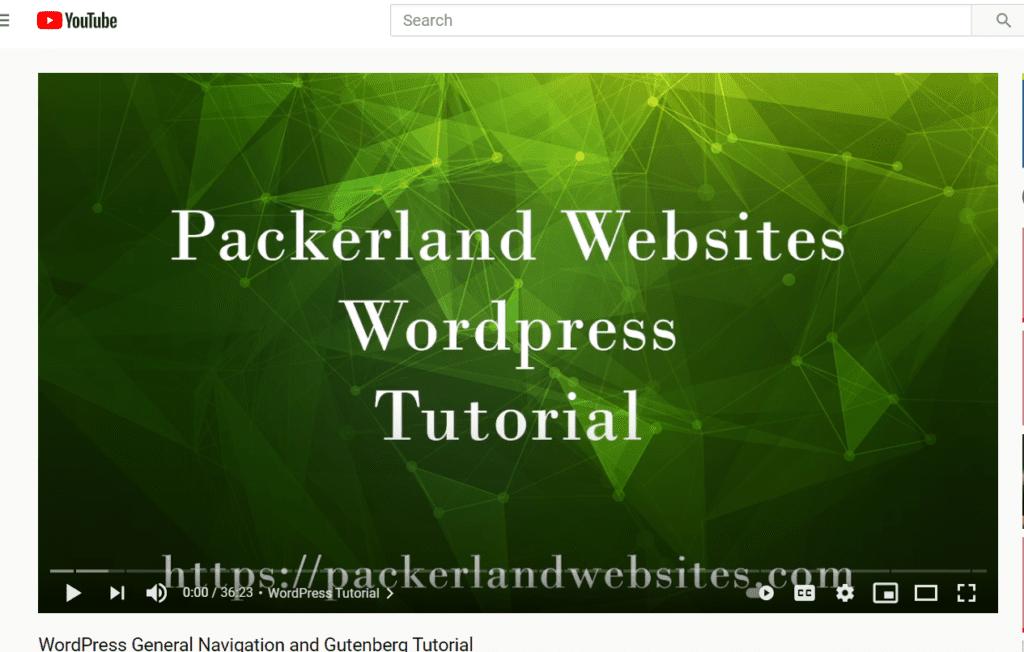 packerland tutorial