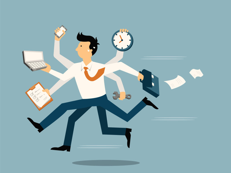 busy businessman needs a new website